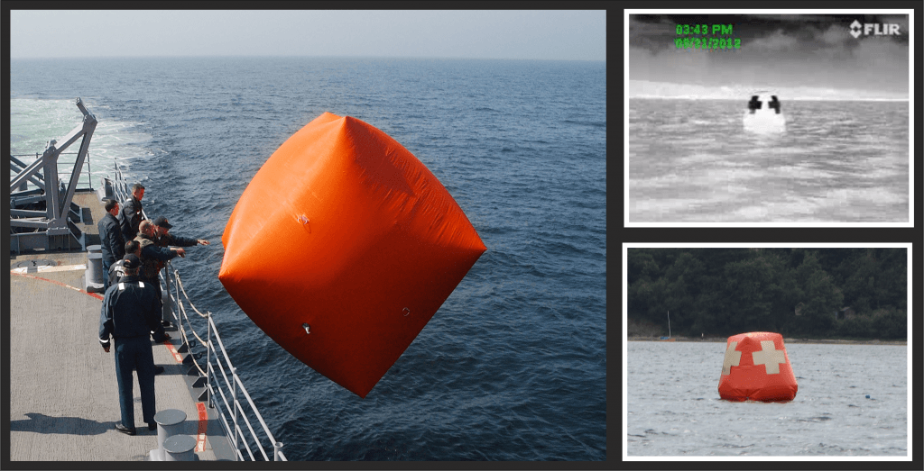 Thermbright naval application Killer tomato naval gunnery target