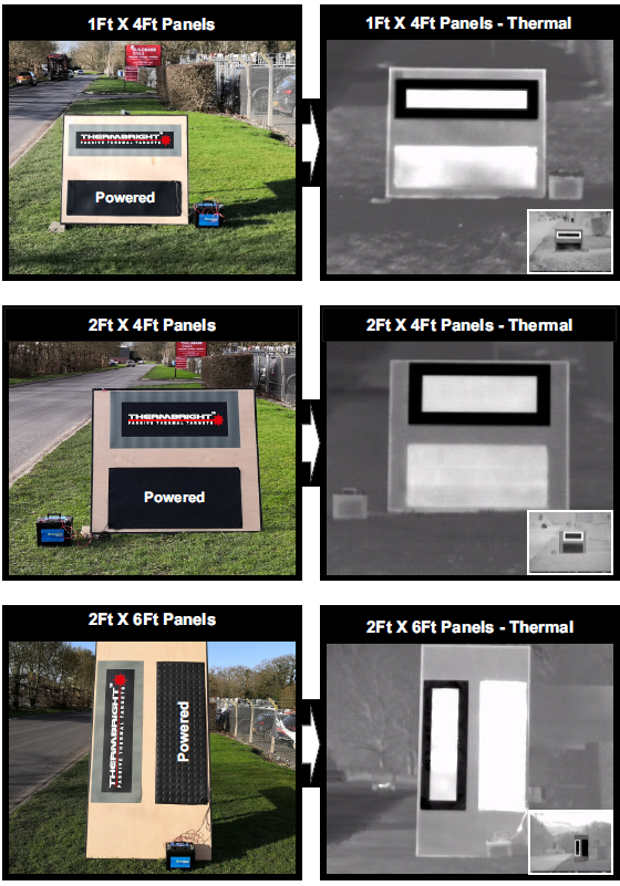 ThermBright unpowered panels vs heated panels