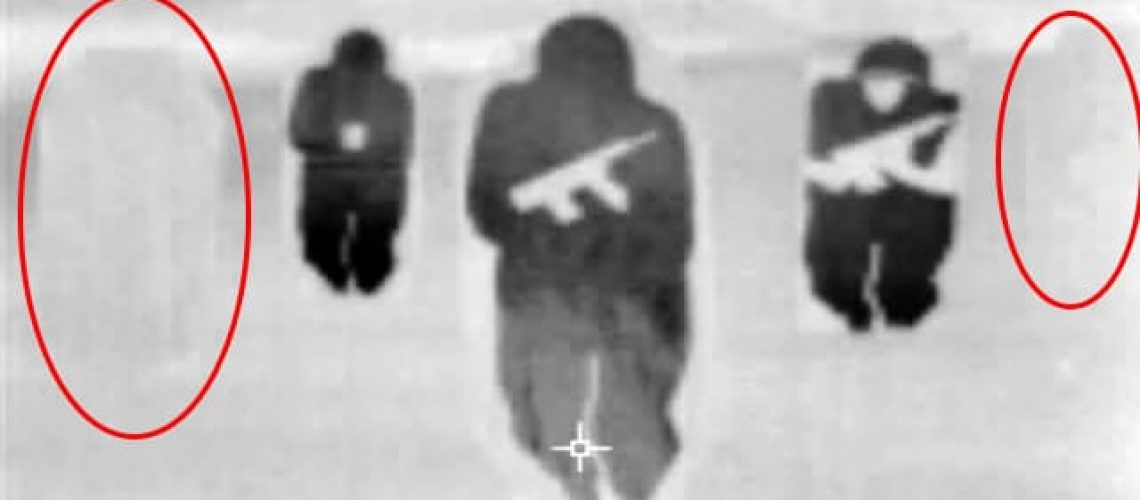 ThermBright Fig 11 Targets thermal view